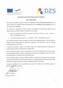Erasmus-certifikat